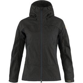 Fjällräven Abisko Lite Trekking Jacket Damen Übergangsjacke dark grey-black