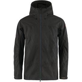 Fjällräven Abisko Lite Trekking Jacket Herren Übergangsjacke dark grey-black