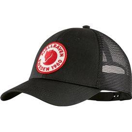 Fjällräven 1960 Logo Langtradarkeps Kappe Basecap black