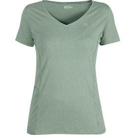 Fjällräven Abisko Cool T-Shirt Damen Kurzarmshirt mint green