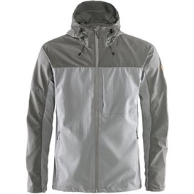 Fjällräven Abisko Midsummer Jacket Herren Übergangsjacke shark grey-super grey