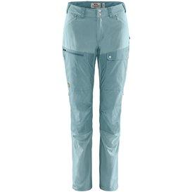 Fjällräven Abisko Midsummer Trousers Regular Damen Wanderhose mineral blue-clay blue