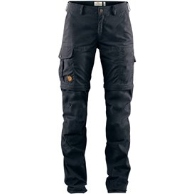 Fjällräven Karla Pro Zip-Off Trousers Damen Wanderhose dark navy