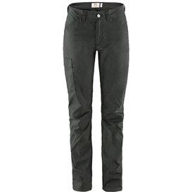 Fjällräven Vardag Lite Trousers Damen Wanderhose Trekkinghose dark grey