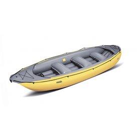 Gumotex Ontario 450 S 6 Personen Schlauchboot Wildwasser Trekking Boot gelb