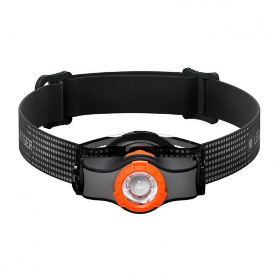 Ledlenser MH3 Helmlampe Stirnlampe 200 Lumen schwarz-orange hier im Ledlenser-Shop günstig online bestellen