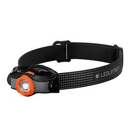 Ledlenser MH3 Helmlampe Stirnlampe 200 Lumen schwarz-orange