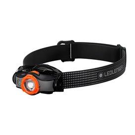 Ledlenser MH5 Helmlampe Stirnlampe 400 Lumen schwarz-orange