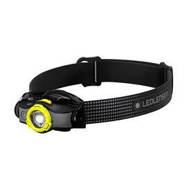 Ledlenser MH5 Helmlampe Stirnlampe 400 Lumen schwarz-gelb