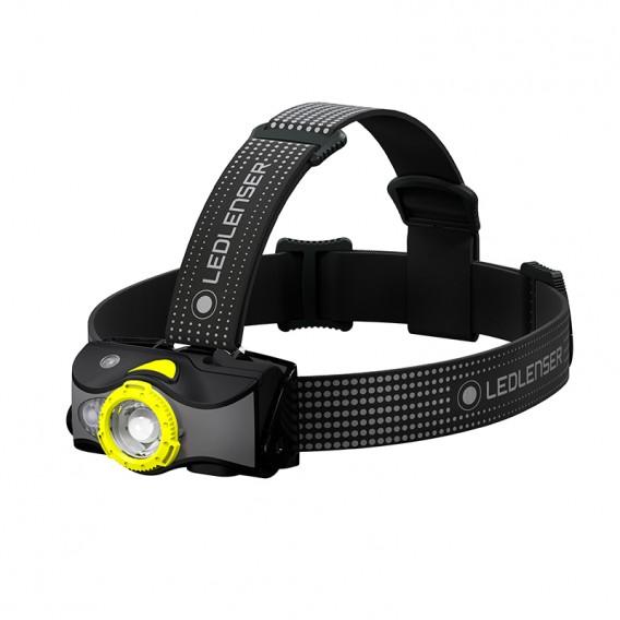 Ledlenser MH7 Helmlampe Stirnlampe 600 Lumen schwarz-gelb hier im Ledlenser-Shop günstig online bestellen