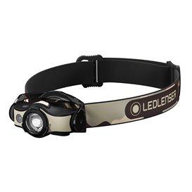 Ledlenser MH4 Helmlampe Stirnlampe 400 Lumen schwarz-sand