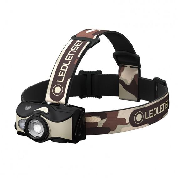 Ledlenser MH8 Helmlampe Stirnlampe 600 Lumen schwarz-sand hier im Ledlenser-Shop günstig online bestellen