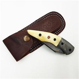 AO Equipment 512 Lagen Damast Klappmesser Taschenmesser Kamelknochen hier im ARTS-Outdoors-Shop günstig online bestellen