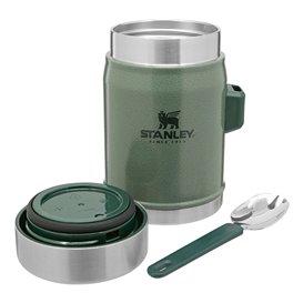 Stanley Classic Food Jar + Spork Isolierbecher mit Löffel grün hier im Stanley-Shop günstig online bestellen