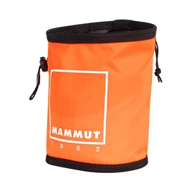 Mammut Gym Print Chalk Bag Beutel für Kletterkreide vibrant orange