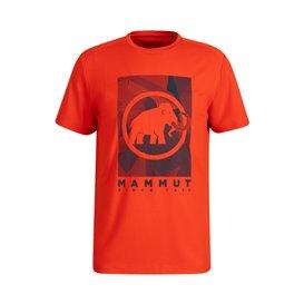 Mammut Trovat T-Shirt Herren Kurzarmshirt spicy PRT2