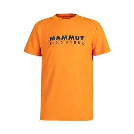 Mammut Trovat T-Shirt Herren Kurzarmshirt dark radiant PRT1 hier im Mammut-Shop günstig online bestellen