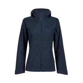Mammut Convey Tour HS Hooded Jacket Damen Regenjacke marine