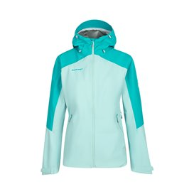 Mammut Convey Tour HS Hooded Jacket Damen Regenjacke ceramic-frosty