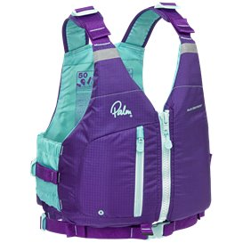 Palm Meander PFD Damen Tourenweste Paddelweste purple