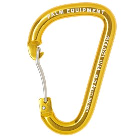 Palm Wire Gate Karabiner Paddelkarabiner gold