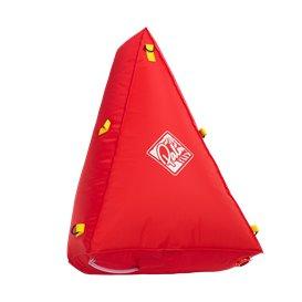 Palm 3D Canoe Float Bag Auftriebkörper rot
