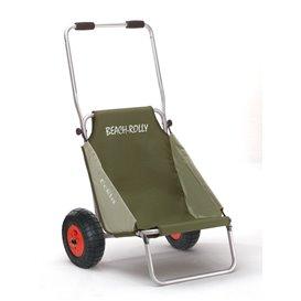 Eckla Beach-Rolly Pannensicher Transportwagen und Campingstuhl olivgrün hier im Eckla-Shop günstig online bestellen