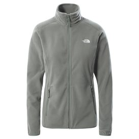 The North Face 100 Glacier Full Zip Damen Fleecejacke agave green