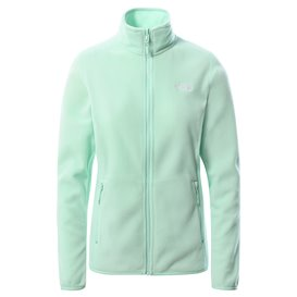 The North Face 100 Glacier Full Zip Damen Fleecejacke misty jade