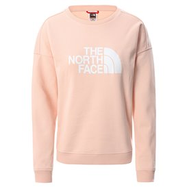 The North Face Drew Peak Crew Damen Sweatshirt Pullover evening sand pink