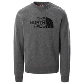 The North Face Drew Peak Crew Light Herren Sweatshirt Pullover grey heather
