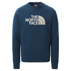 The North Face Drew Peak Crew Light Herren Sweatshirt Pullover monterey blue