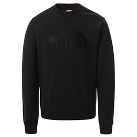 The North Face Drew Peak Crew Light Herren Sweatshirt Pullover tnf black