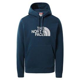 The North Face Drew Peak Pullover Herren Hoodie monterey blue-white