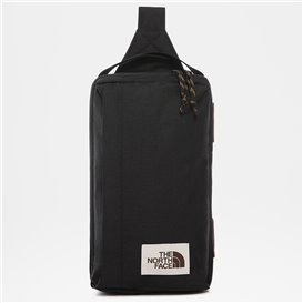 The North Face Field Bag kleine Umhängetasche black heather