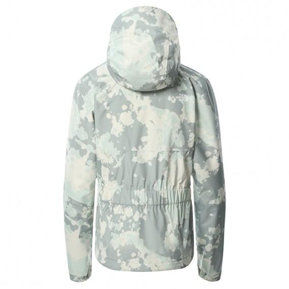 The North Face Hikesteller Print Jacket Damen Regenjacke iron-sky print hier im The North Face-Shop günstig online bestellen