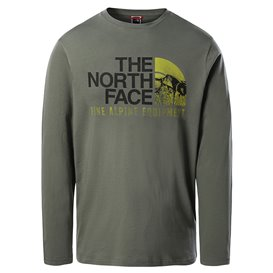 The North Face Image Ideals Tee Herren Sweatshirt Langarmshirt agave green