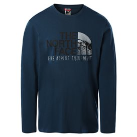 The North Face Image Ideals Tee Herren Sweatshirt Langarmshirt monterey blue