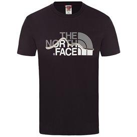 The North Face Mountain Line Tee Herren T-Shirt Kurzarmshirt tnf black