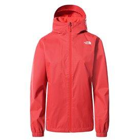 The North Face Quest Jacket Damen Regenjacke horizon red heather