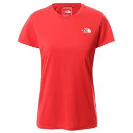 The North Face Reaxion Amp Crew Damen T-Shirt horizon red