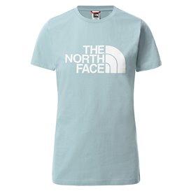 The North Face Short Sleeve Easy Tee Damen T-Shirt Kurzarmshirt tourmaline blue