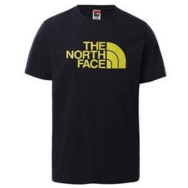 The North Face Short Sleeve Easy Tee Herren T-Shirt Kurzarmshirt navy-citronelle