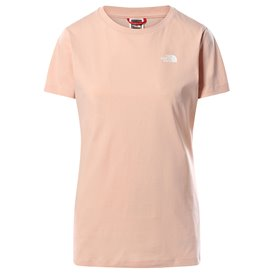 The North Face Short Sleeve Simple Dome Tee Damen T-Shirt evening sand pink