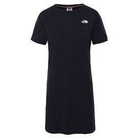 The North Face Simple Dome Tee Dress Damen T-Shirt Kleid Sommerkleid tnf black