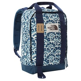 The North Face Tote Pack Freizeitrucksack Daypack monterey blue-floral print