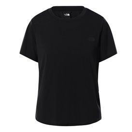 The North Face Wander Twist Back Short Sleeve Damen T-Shirt Kurzarmshirt tnf black