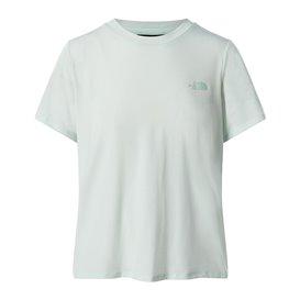 The North Face Wander Twist Back Short Sleeve Damen T-Shirt misty jade heather