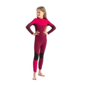 Jobe Boston 3/2mm Fullsuit Kinder Neoprenanzug hot pink