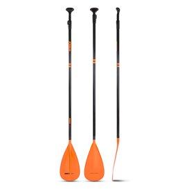 Jobe Fusion Stick SUP Fiberglas Paddel 3-teilig orange
